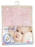 Purchase Lucky Baby Suprecomfort First™ Snuggle Blanket Pink Online