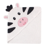 Price Luvable Friends Animal Face Hooded Towel Zebra On Singapore