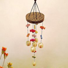 Shop For Magic Fish Wind Bell Chinese Chime Blessing Good Luck Hanging Door Decor Classic
