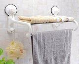 How To Buy Magic Suction Cup Bathroom Towel Rack Hanger 40Cm