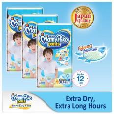 Shop For Mamypoko Super Jumbo Pants Diaper Xl 46S Boy 3 Packs