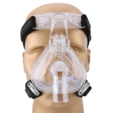 Sale Mcoplus Nm 01 S Size Health Care Silicone And Plastic Cpap Nasal Mask With Headgear For Sleep Apnea Mcoplus Branded