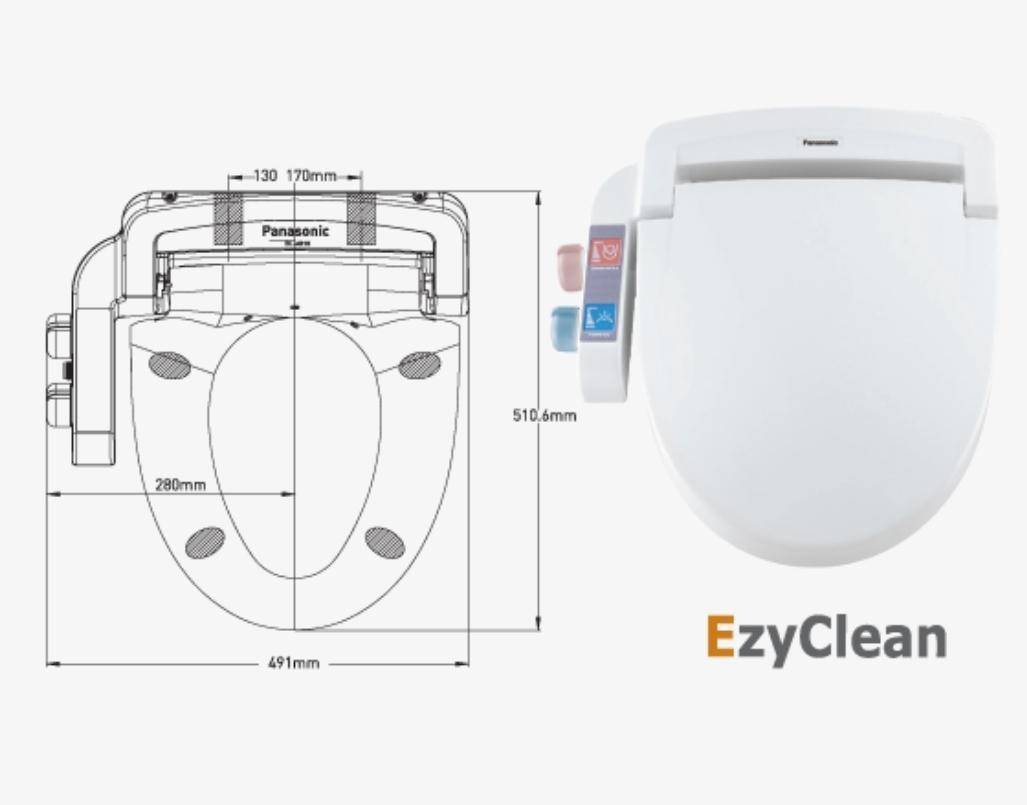 Panasonic EzyClean Bidet