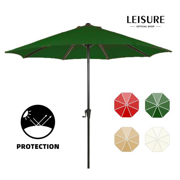 LEISURE Diameter 2.7M Garden Sunshade Umbrella For Outdoor(NO BASE)