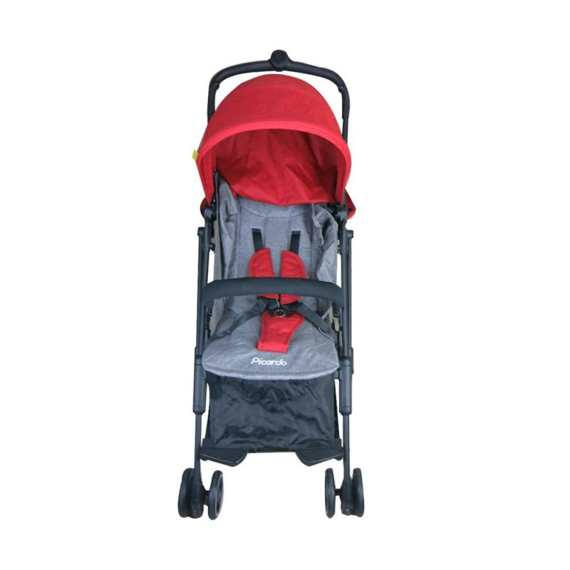 PICARDO Mini XSR Cabin Stroller Recline-Red Singapore