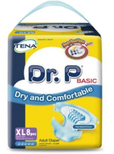 Buy Tena Dr.P Adult Diapers XL8 Singapore