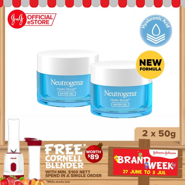 Buy [JNJ Brand Week - Top Deals] Neutrogena Hydro Boost Water Gel 50g x2 Singapore