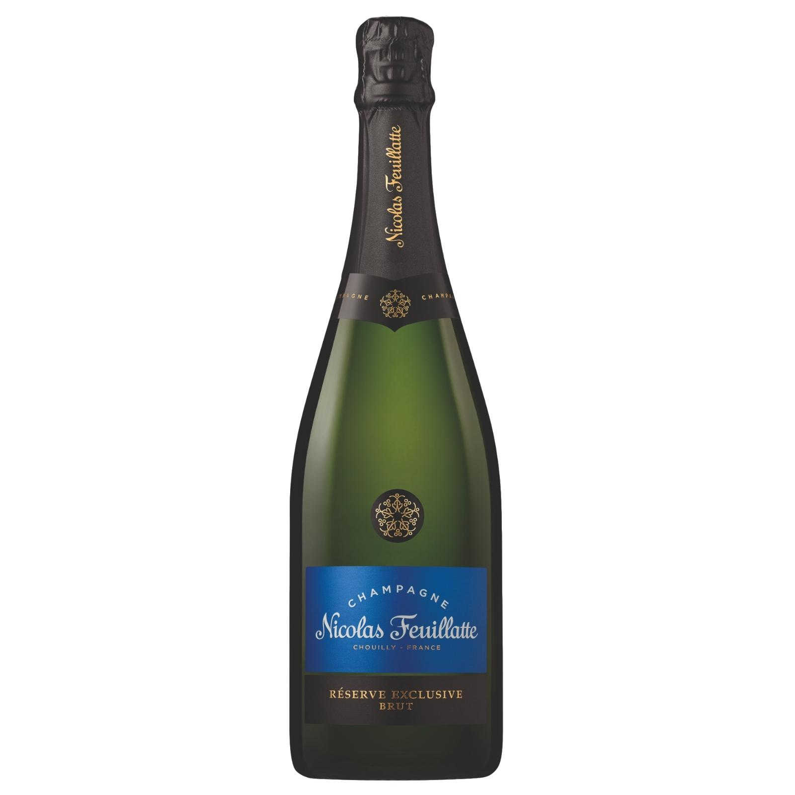 Nicolas Feuillatte Reserve Exclusive Brut Champagne Nv 750ml By C&c Drinks Shop - Three Kraters.