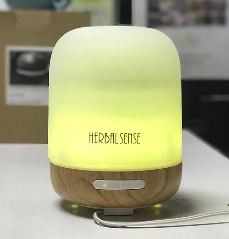 ULTRASONIC HUMIDIFIER AROMA LED LIGHT GLASS DIFFUSER HS-P8A 200 ML
