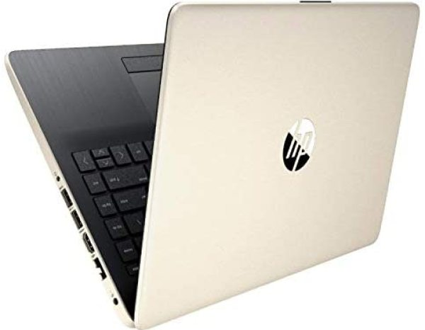 New model  2020 HP Same Day Delivery 10th generation 14-dq1040wm Notebook 14 inch i5-1035G 8GB RAM 256GB SSD Win 10 Home Pale Gold color Win 10 Home  In-build Webcam 1 year shop warranty wireless mouse and bag display set clearance