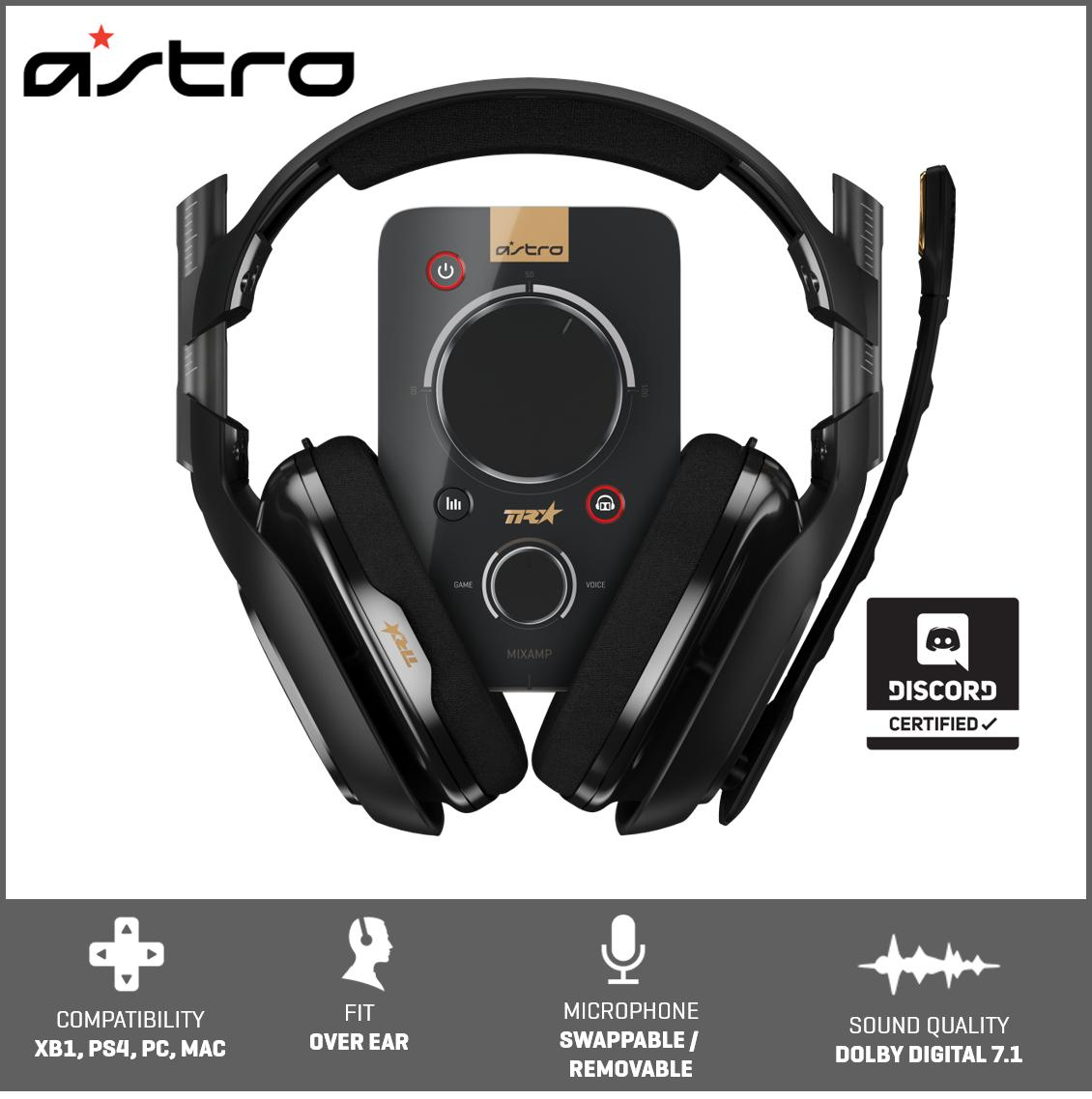 Astro A40 Tr Headset + MixAmp