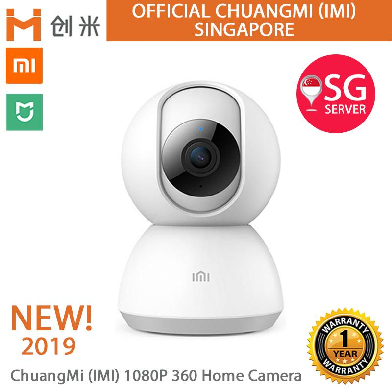 Official XiaoMi ChuangMi (iMi) NEW 2019 Model 1080P 360 Global Home Camera  Baby Crying H265 Motion detect Colour Night Vision Silent Rotation