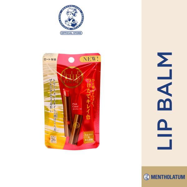 Buy Mentholatum Lip The Colour Pink Coral Singapore