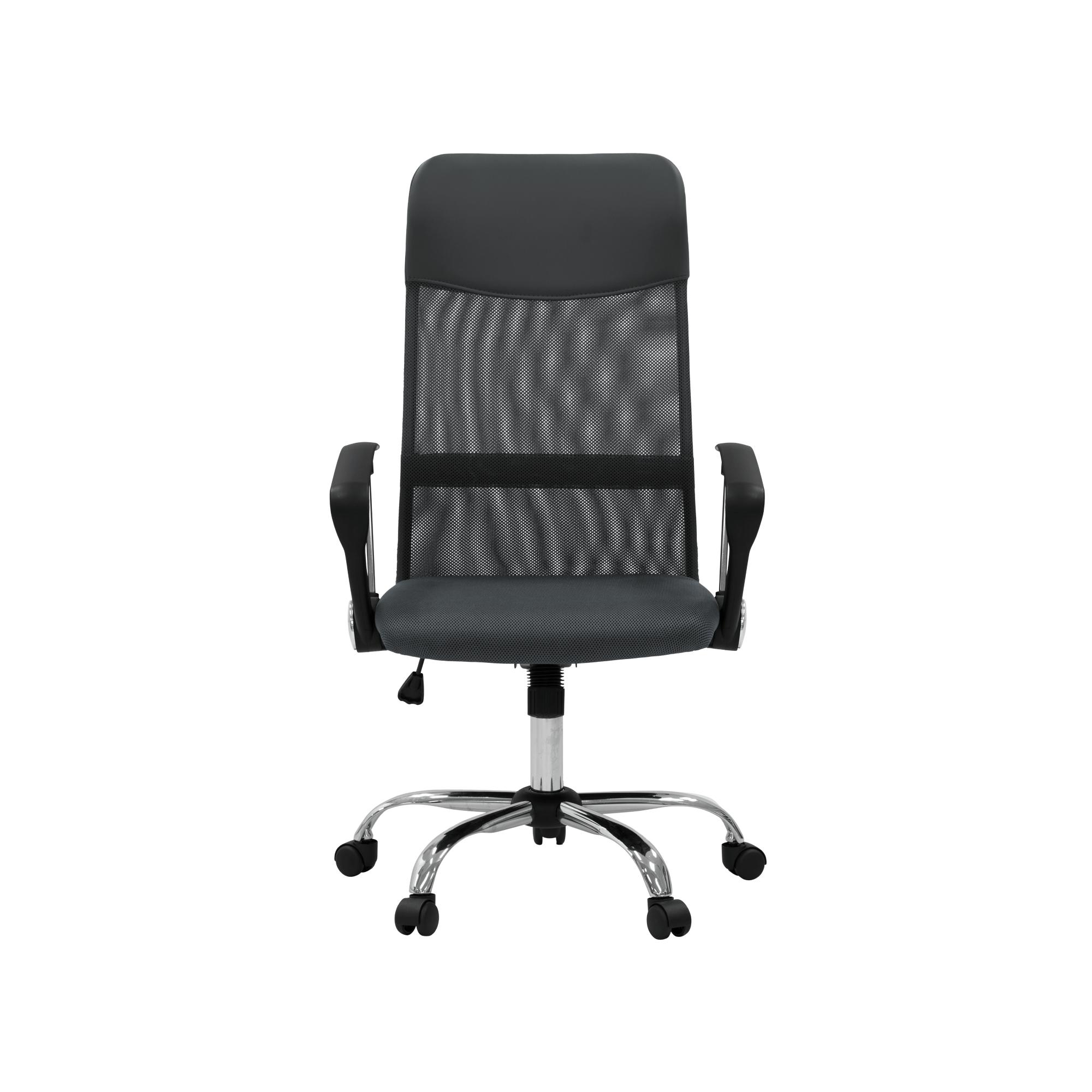 HipVan Cory High Back Office Chair - Grey - Self-Assembly