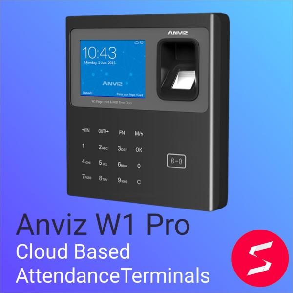 Anviz W1 Pro Fingerprint and RFID Time and Attendance Terminal WI-FI