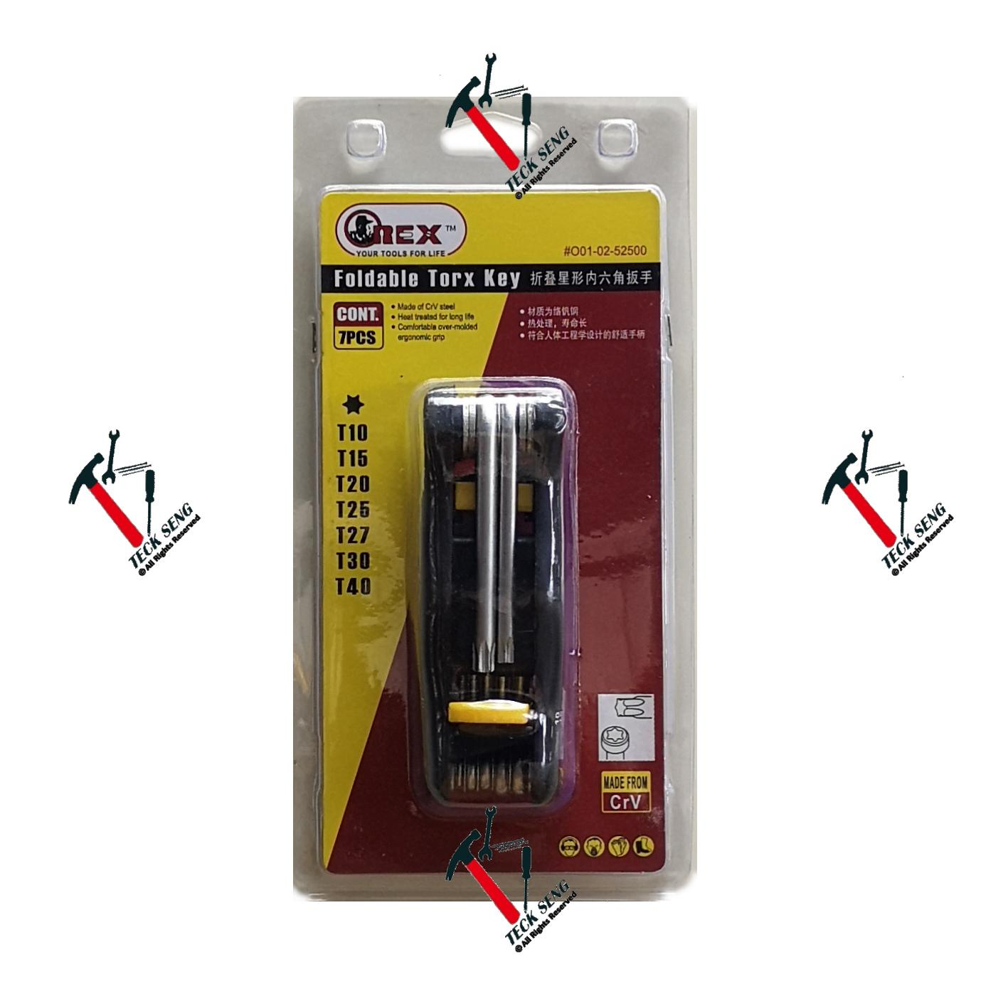 OREX Foldable Torx Key