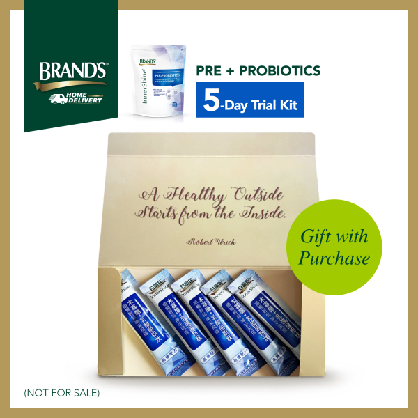 Buy [Not For Sale] BRANDS® Pre+Probiotics 5 day trial kit Singapore