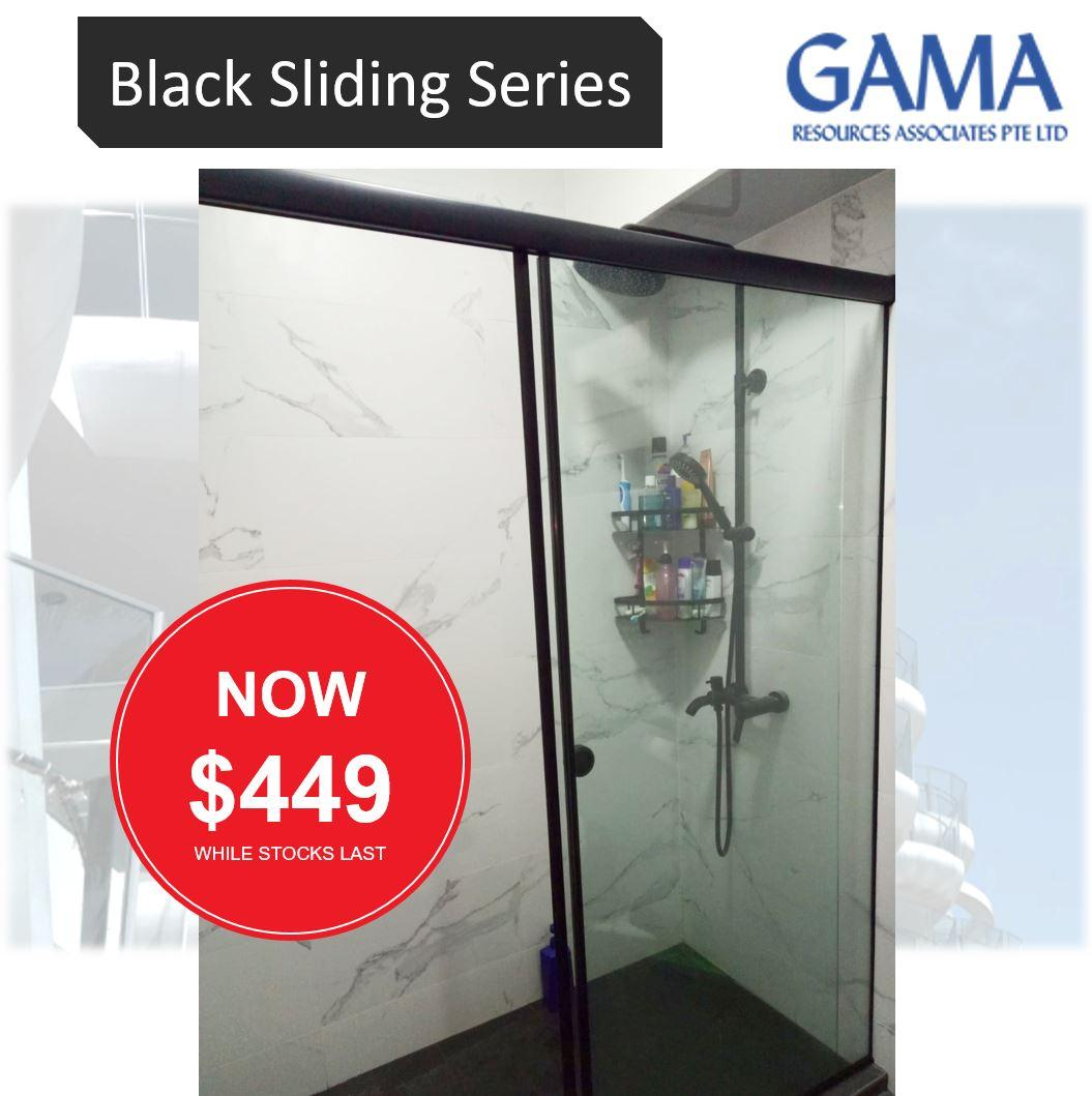 Shower Screen (Black Series) BTO Promotion