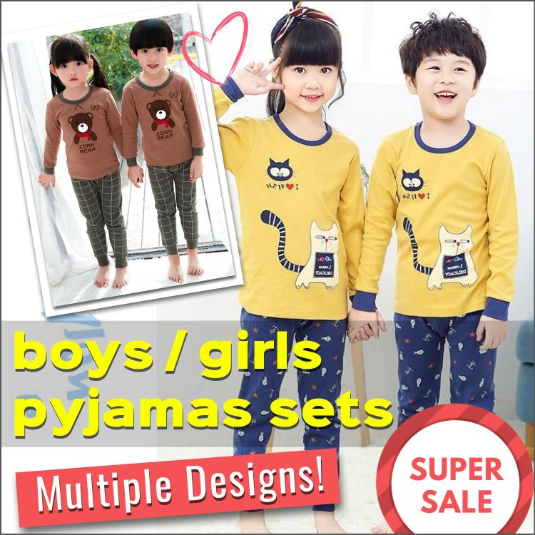 f1a4746b0 SG Seller / Boys and Girls Pyjamas Set / Sleepwear / Nightwear / Baby / 100