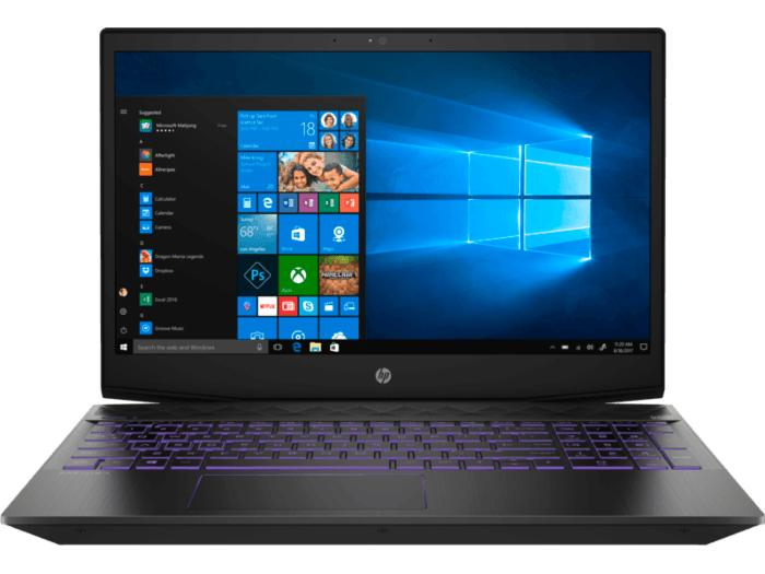 HP 5TH48PA Pavilion Gaming Laptop 15-cx0200TX (Shadow Black/Ultraviolet accents)