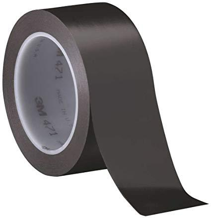3M 471 Coloured stretchable Premium Vinyl Tape for Floor marking, Repairs and Sealing  50MM X 33M