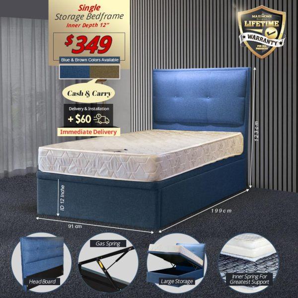 Neve Storage Bedframe
