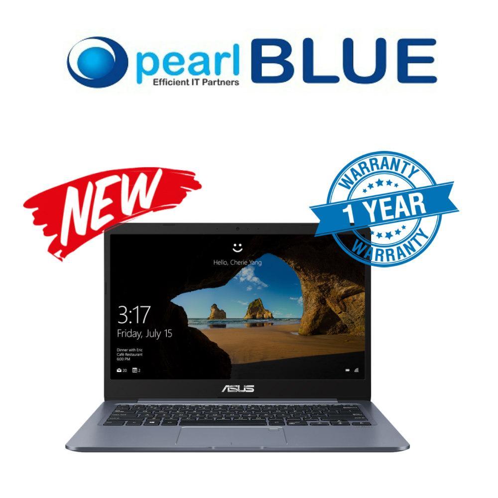 ASUS Laptop E406MA-EB199TS 14.0 FHD LED (1920x1080) Intel® Celeron® N4100 Processor / 4GB DDR4 / 64GB EMMC  / Intel UHD Graphics 600