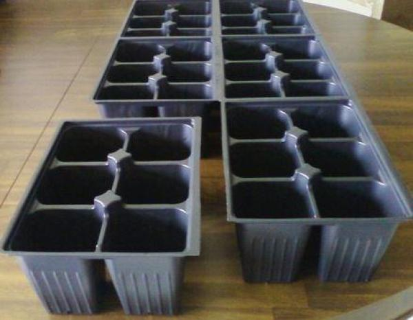 Tray Gardening Planting Seed tray 3pcs High Quality Various Cells Type for Plant Vegetable/Flower grow or seed germination Unlimited Reuse