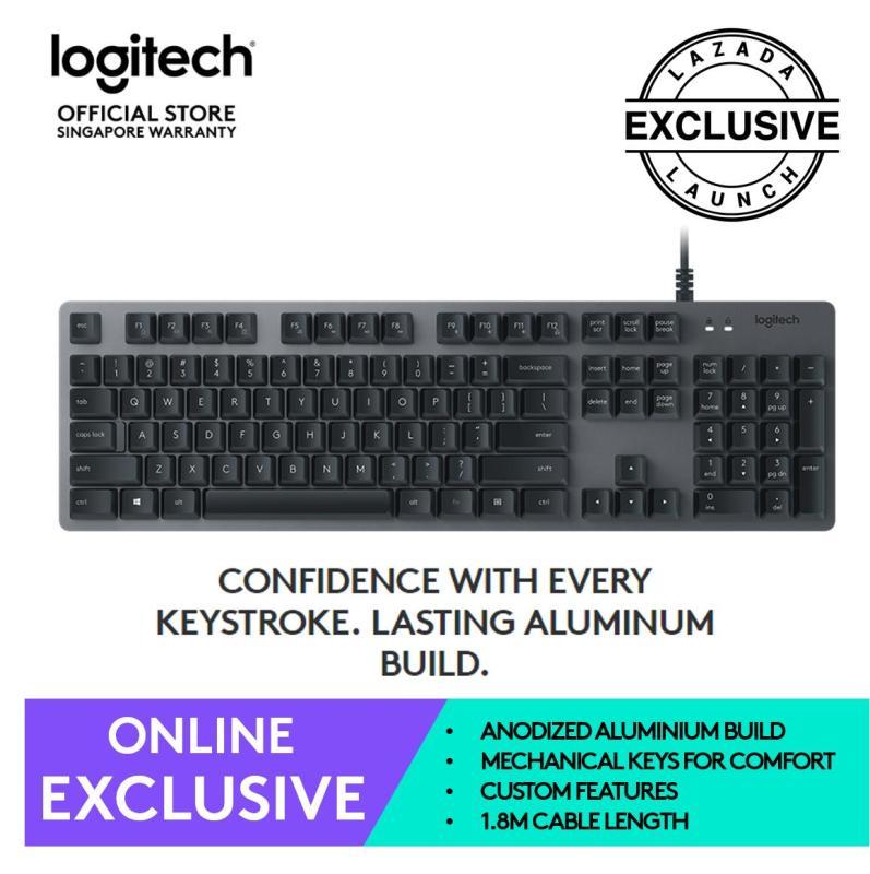 Logitech K840 Mechanical Keyboard Singapore
