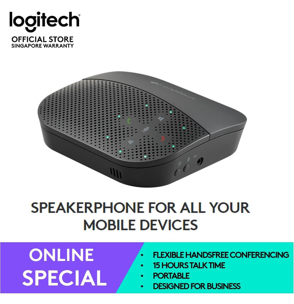 Logitech P710e Mobile Conference Speakerphone
