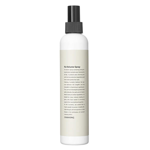 Buy CHAHONG Fix Volume Spray - Herbal Complex Ingredients Included Mist-Type Non-Greasy Fix Spray with Long-Lasting Power 250ml Singapore