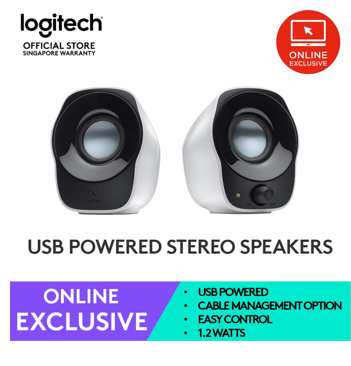 Logitech Z121 Usb Mini Stereo Speakers (online Exclusive) By Lazada Retail Logitech