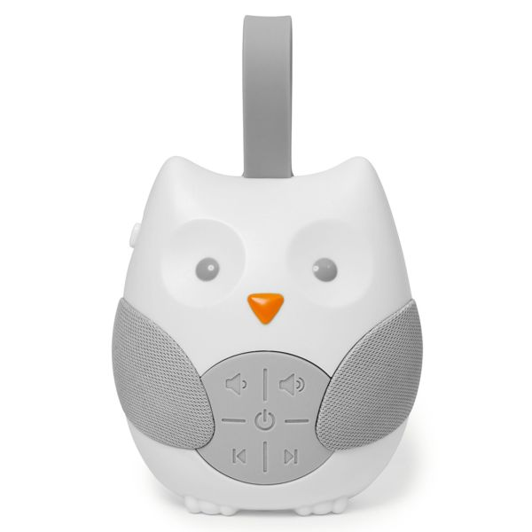 Skip Hop Stroll & Go Portable Baby Soother - White Singapore