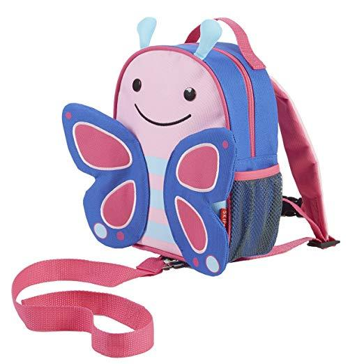Skip Hop Zoo Let Backpack - Safety Harness - Butterfly