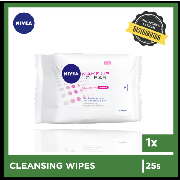 Buy [Nivea] Nivea Makeup Clear Cleansing Wipes 25s  The Grocery Co -  Skincare Singapore
