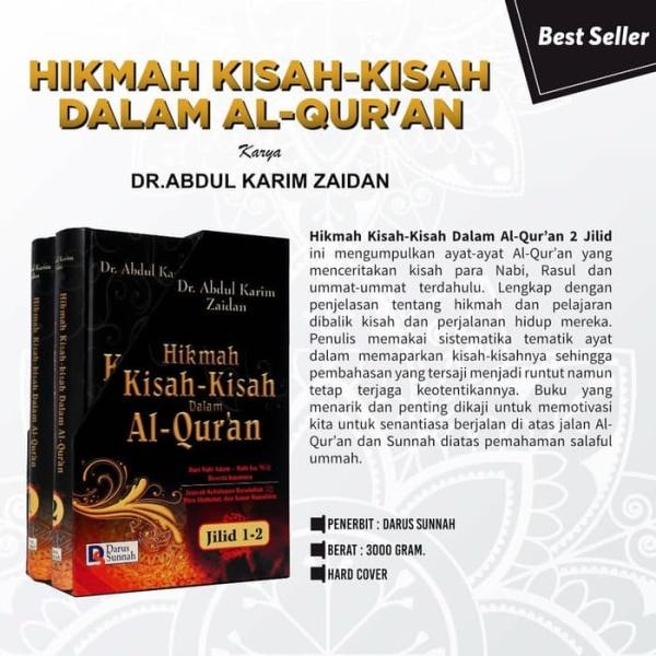 HIKMAH KISAH-KISAH DALAM AL QURAN set lengkap (Jilid1-2)