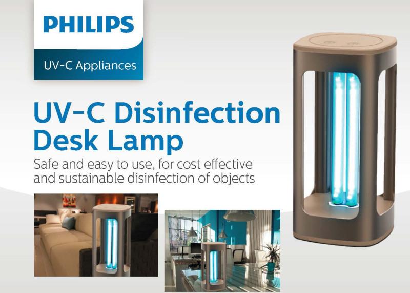 Philips UV-C Desk Lamp - UVC Sterilizer Singapore