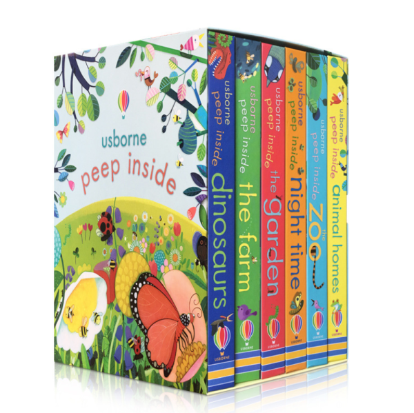 Usborne Peep inside series books (6books/pack)