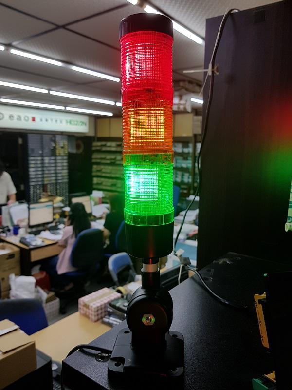 EMA TOWERLIGHTS 50MM RED YELLOW GREEN 12-24VDC WHITE