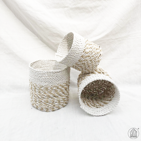 ASTARI (M) Seagrass Woven Multi Purpose Storage Basket