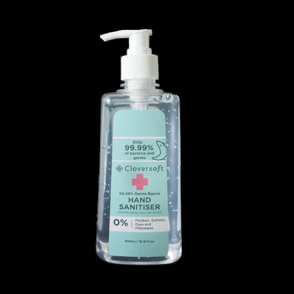 Buy Cloversoft 99.99% Germs Bgone Hand Sanitiser 500ml Singapore