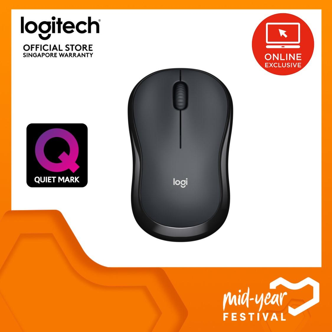 b27a7fb1ac4 Logitech M220 Silent Wireless Mobile Mouse - Charcoal (Online Exclusive)