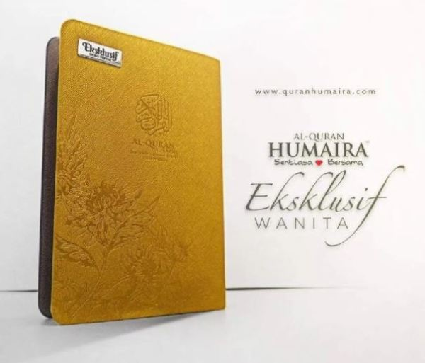 Al Quran (Tagging) Humaira Tajwid & Terjemahan Edisi Esklusif Untuk Wanita SIZE A5 (GOLD)