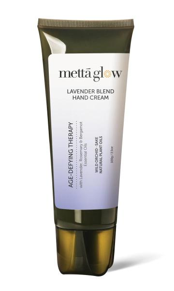 Buy Mettaglow Age-Defying Hand Therapy with Lavender, Rosemary & Bergamot Essential Oils (100g) Singapore