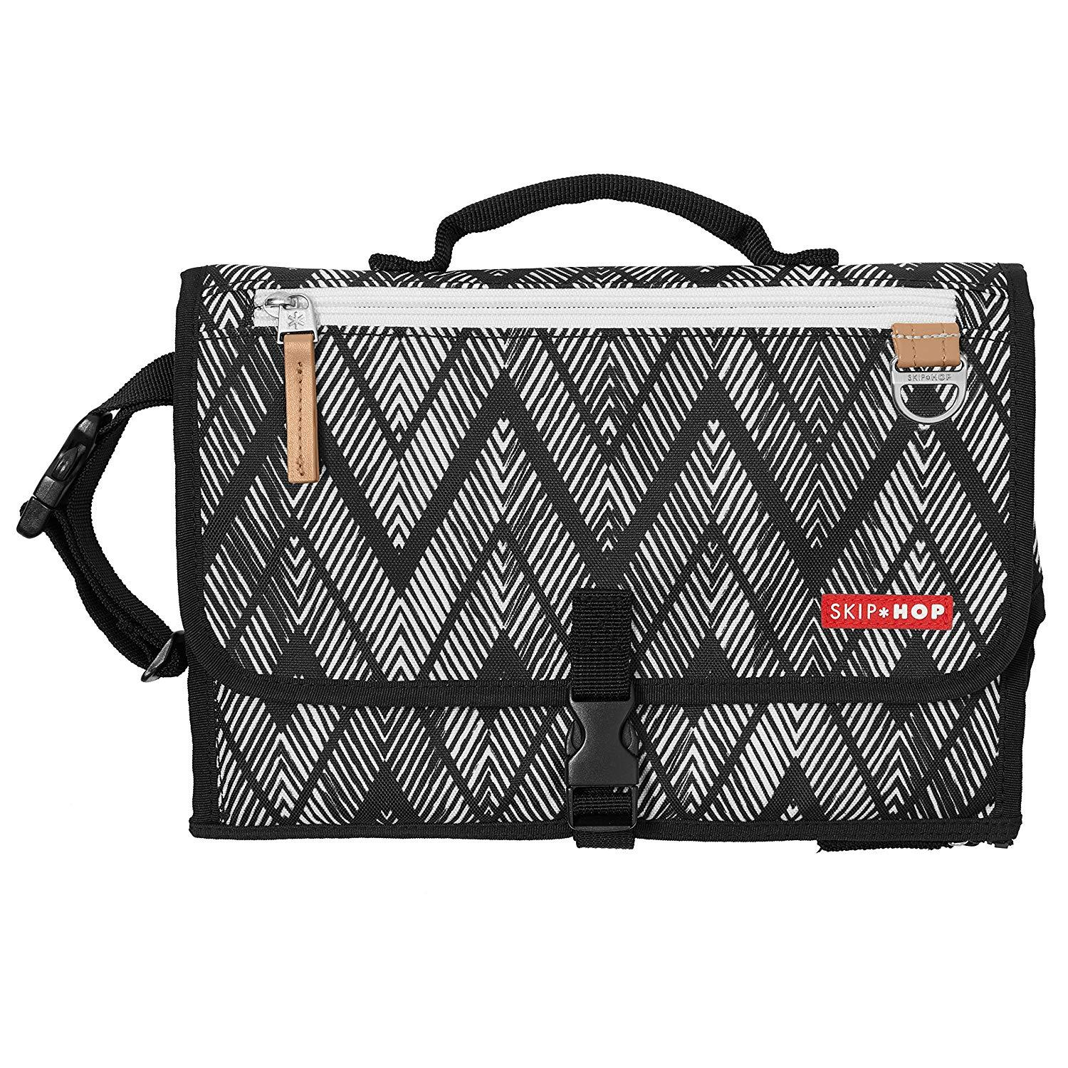 Skip Hop Pronto Diaper Changing Station Bag - Zig Zag Zebra