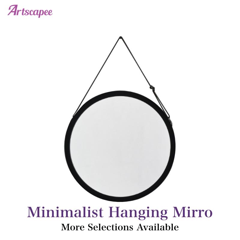 Minimalist Hanging Mirror