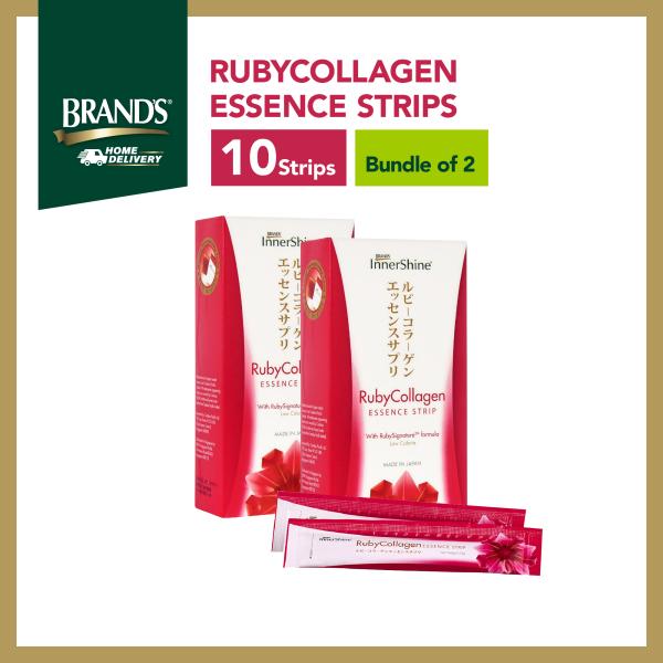 Buy [Bundle of 2] BRANDS® InnerShine RubyCollagen Essence Strips 10 Strips Singapore