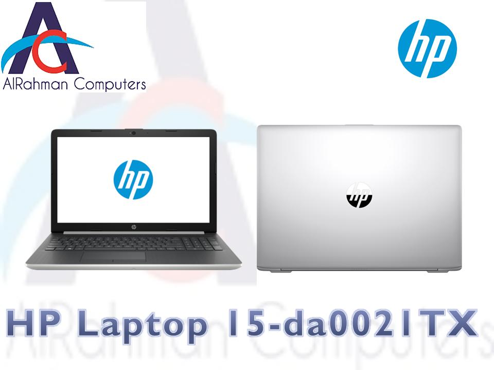 HP Notebook - 15-da0021tx 15 Laptop Black (Intel Core™ i5-8250U Processor 8th Gen (1.6 GHz, up to 3.4 GHz with Intel® Turbo Boost Technology, 6 MB cache, 4 cores), 4GB, 1TB, Windows 10 Home)