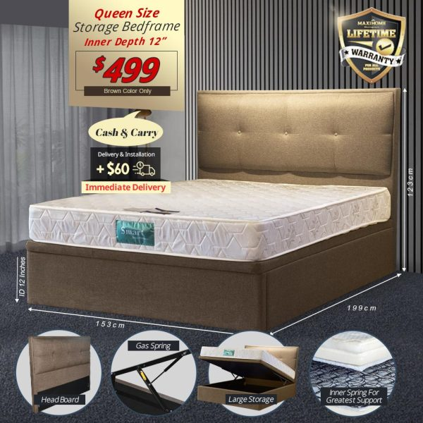 Elvis Storage Bedframe