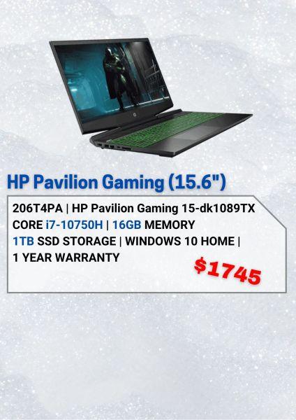 HP HP Pavilion Gaming 15-dk1089TX - 206T4PA